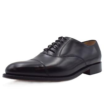 Barker Arnold Mens Formal Lace-up Oxford Shoes In Black