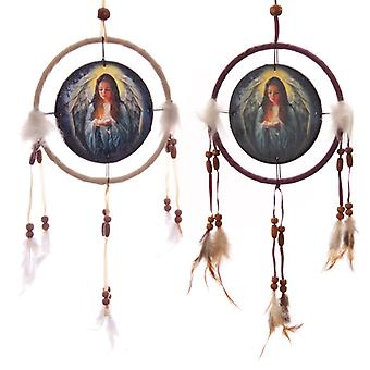 Decorative Guardian Angel 16cm Dreamcatcher X 1 Pack