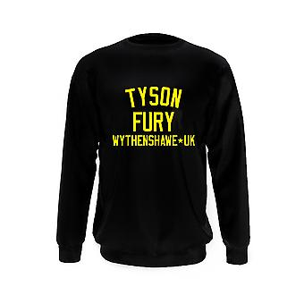 Tyson Fury Boxen Legende Sweatshirt
