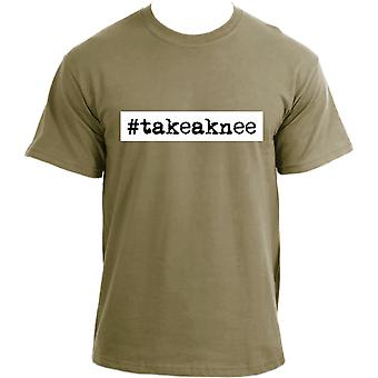 #takeaknee Take a Knee t-shirt ~ I Am With Kap - Stand Up for Rights.
