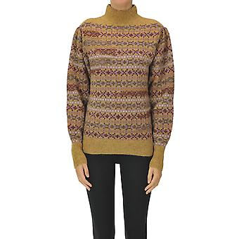 Isabel Marant ÉToile Ezgl287058 Women's Multicolor Wool Sweater
