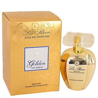 La rive golden woman eau de parfum spray por la rive 536961 75 ml