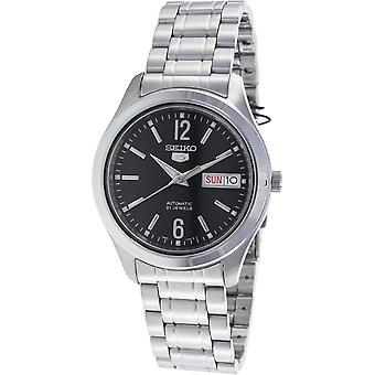 Seiko 5 Gent Watch SNKM57K1 - Stainless Steel Gents Automatic Analogue