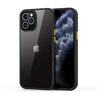 iPhone 12 Pro Max Case Transparent Black - Shark