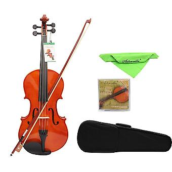 16 Inch Solid Maple Viola With Case Bow, Bridge Strings, Instruments Violin