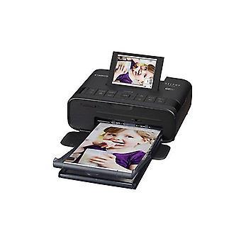 Stampante fotografica compatta wireless Canon selphy cp1300 con stampa di dispositivi con impronta aerea e mopria, nero