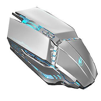 Wired Gaming Mouse LED RGB bakgrundsbelyst programmerbara knappar mus med makroinspelning sidoknappar Rapid Fire Button