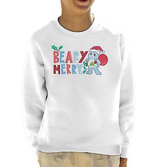 Care Bears Unlock The Magic Christmas Beary Merry Kid's Sweatshirt