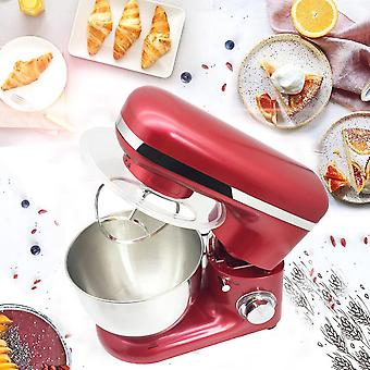 1200W 4L Stainless Steel Bowl 6-speed Kitchen Food Stand Mixer Cream Egg Whisk Blender Cake Dough Bread Mixer Maker Machine