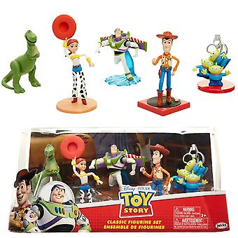 5-pack Disney Pixar Lelutarinan kuvasarja Woody Buzz Lightyear Rex