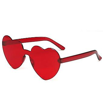 Fashion Rimless Sunglasses, Women Vintage Dragonfly Steampunk, Men Frameless