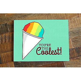 Snow Cone Card You're The Coolest Card