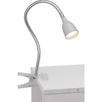 Brilliant Antony Clip lamp Built-in LED Titanium
