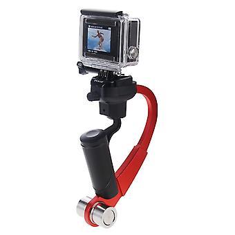 GoPro HREO4 /3+ /3 /2 /1 デジタル カメラ (赤) 用アルミニウム合金ステディカム ハンドヘルドスタビライザー ステディカム スムージー カメラ マウント