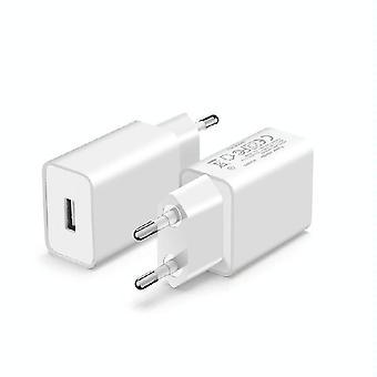 ستارترك 5V 2A شاحن USB مع شهادة CE لDJI OSMO موبايل 2 / OSMO موبايل 3 / OSMO موبايل 4، EU التوصيل (الأبيض)
