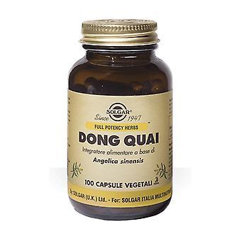 Dong quai 100 kapslar