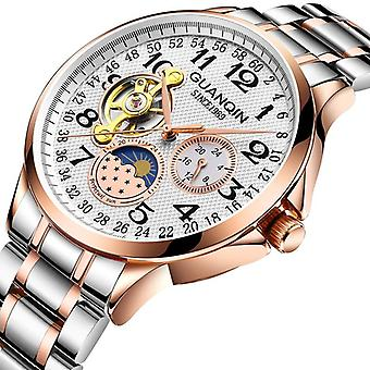 Sport Automatic Luxury Man Skeleton Tourbillon Waterproof Mechanical Watch