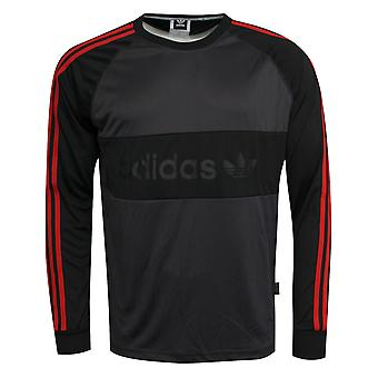 Adidas Climalite Goalie Mens Black Adults Football Goalkeeper Jersey BR3987 RW59