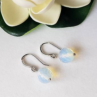 Jelly Opal Dangle Earrings