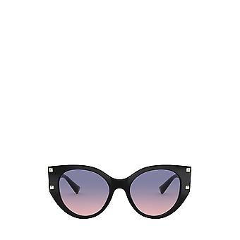 Valentino VA4068 zwarte vrouwelijke zonnebril