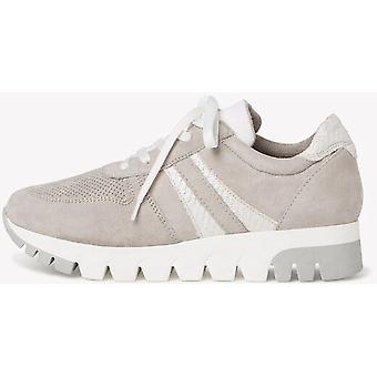 Sapatos lisos cinzas