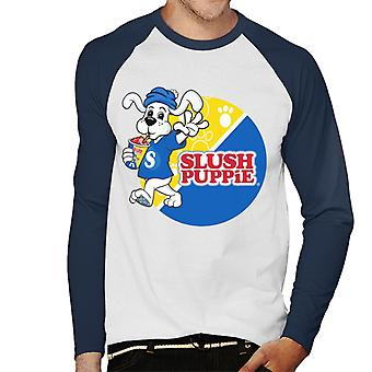 Slush Puppie Retro Wave Mænd's Baseball langærmet T-shirt