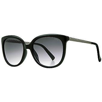 Suuna Soft Round Sunglasses - Shiny Black