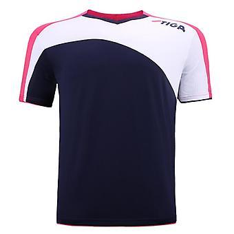 Original Stiga Unisex Bordtennis T-shirt Bordtennis Champion Shirt, Hurtig