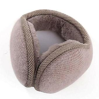 Men Women Winter Warm Faux Fur Earmuffs, Adjustable For Hairbands, Soft