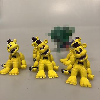 Pakk Secondhand fem netter på Freddy & apos; s Bear Action Leketøy Box