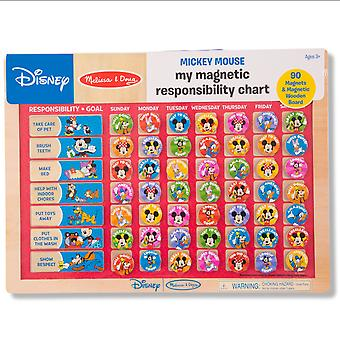Melissa & doug - 27522   mickey mouse my magnetic responsibility chart