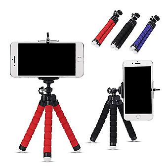 Mini Tripod Flexible Sponge Octopus Bracket Portable Smartphone Clip Camera