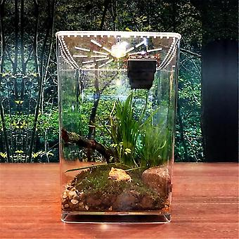 Acrylic Clear Plant Pet Feeding Tank Empty Box Reptile Insect Breeding Box Cage Decorations