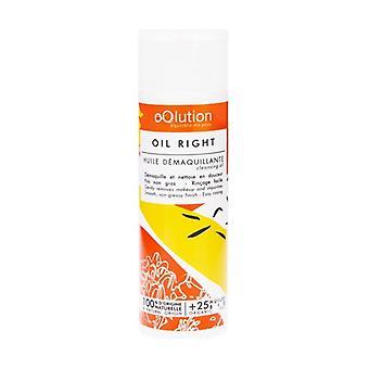 Oil Right - Make-up removing oil 125 ml of oil