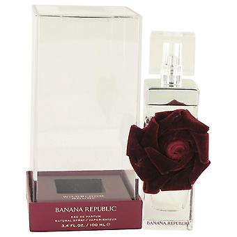 Banana Republic Wildbloom Rouge Eau De Parfum Spray de république bananière 3.4 oz Eau De Parfum Spray