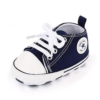 Baby Canvas Classic Sneakers, Newborn Print Star Sports Baby First Walkers