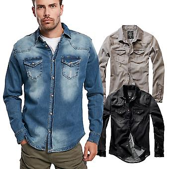 Brandit - RILEY Denim Hemd Shirt