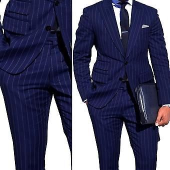 Men Business Suit With Ticket Pocket ( Set 1)