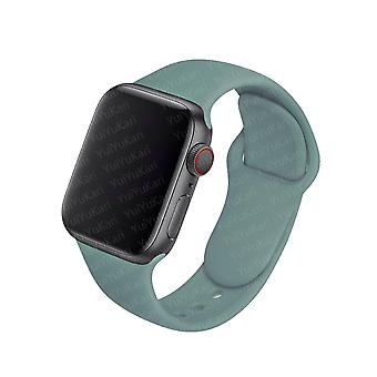 Silicone Strap For Apple Watch Band 44mm 40mm 38mm 42mm Rubber Sport Wristband