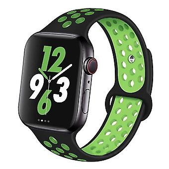 Silicone Wristband Suitable For Apple Watch-breathable Bracelet (set-20)