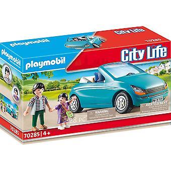 Playmobil 70285 City Life Pre-School Familie met auto