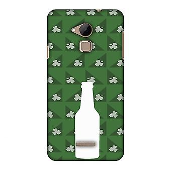 Beer And Pattern With Shemrock - Green Slim Hard