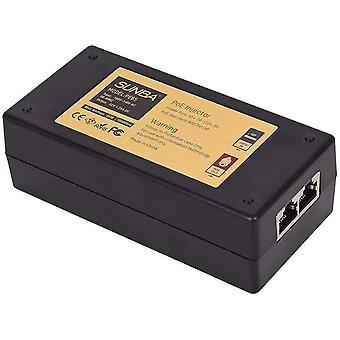 Wokex High Power Gigabit 65W Single Port Long Distance Transmission 802at/af Compliant PoE+ Injector