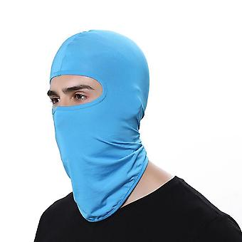 Synthetic Silk Ultra Thin Thermal Ski  Face Mask