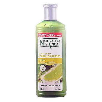 Purifying Shampoo Sensitive Naturvital (400 ml)