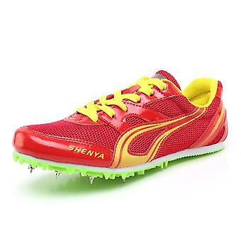 Mesh friidrott skor Blå RödGröna Sneakers