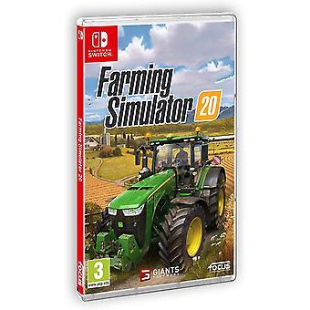 Farming Simulator 20 Nintendo Switch Game