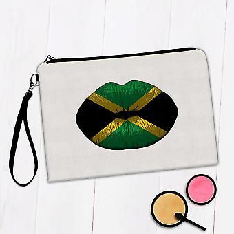 Gave Makeup Taske: Lips jamaicanske Flag Jamaica