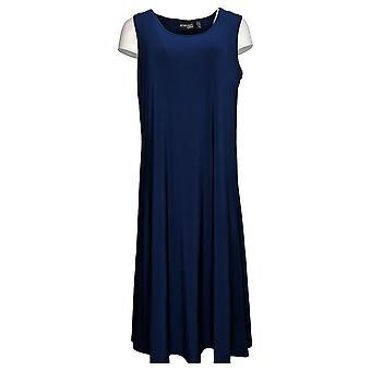 レニー プチ ドレス ノースリーブ マキシ ドレス ブルー A382809 による態度