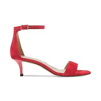 Negen West Womens Leisa leer Open teen speciale gelegenheid enkel riem sandalen